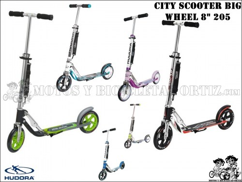 HUDORA CITY BIG WHEEL 8 205
