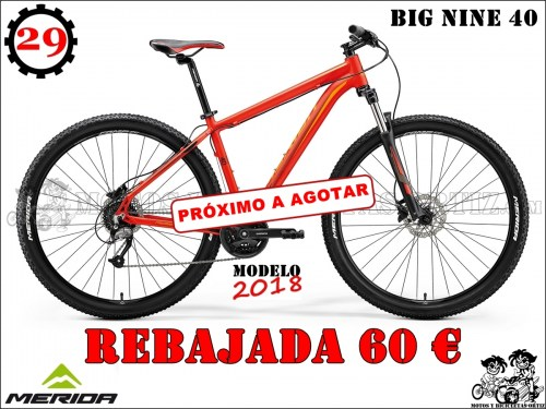 MERIDA BIG NINE 40662