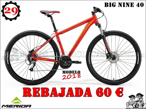 MERIDA BIG NINE 4066