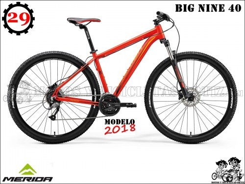 MERIDA BIG NINE 406
