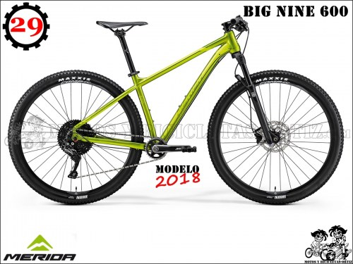 MERIDA BIG NINE 6009