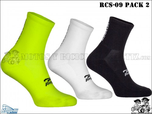 ROGELLI CALCETINES PACK RCS-09